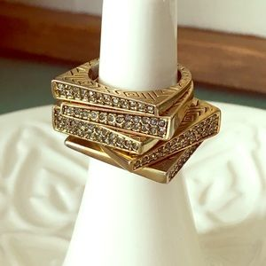 House of Harlow 1960 stack rings